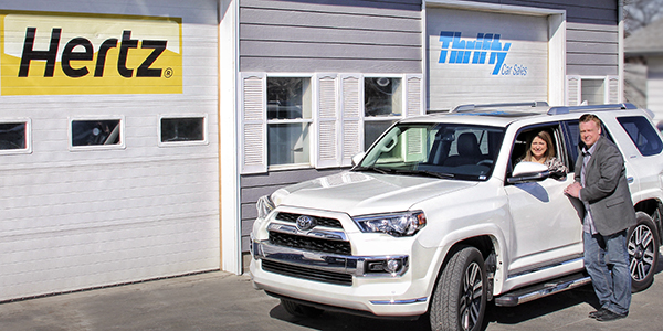 Smart Business: Hertz/Thrifty Car Sales.